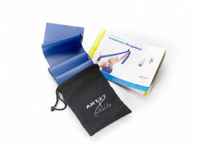 ARTZT vitality Latexfree 2,5 m, extra stark, blau (in Aufbewahrungstasche)