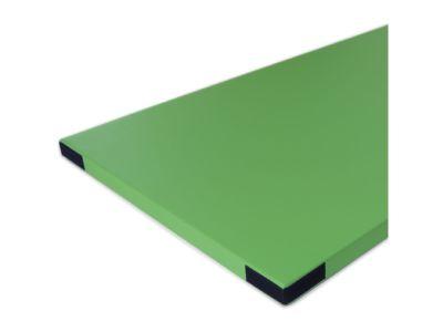 Bänfer Fallschutzmatte Superleicht (mit Klettecken), hellgrün