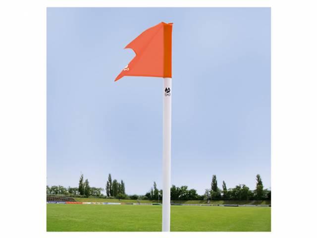 b+d Sportartikel Begrenzungsstange, inkl. Fahne und Bodenhülse