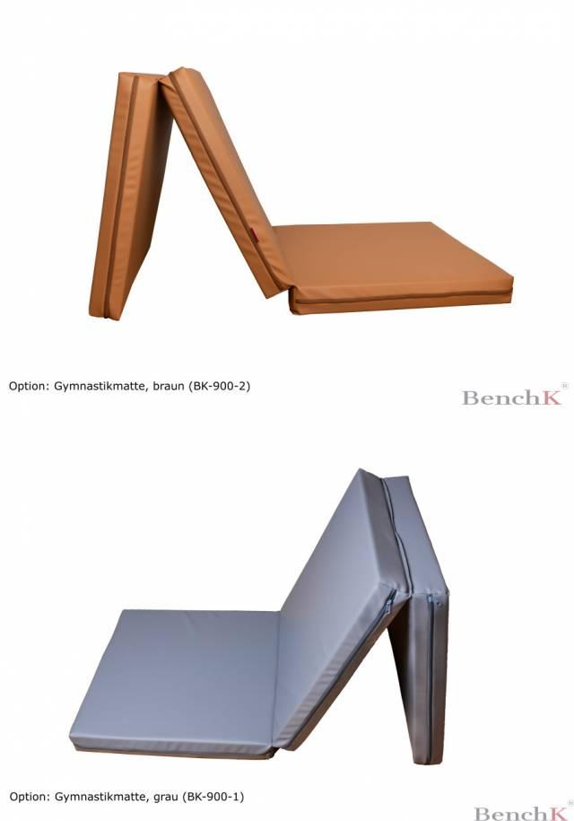 BenchK 311 Sprossenwand - 9 Sprossen - inkl. Metall-Klimmzugstange + Dip bar + Trainingsbank