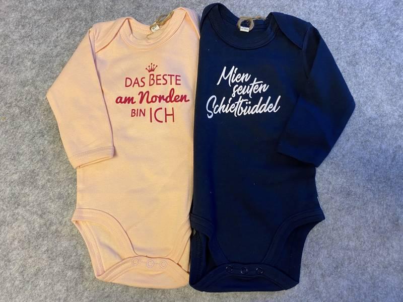 Danker-Druck Baby Body Organic, inkl. Aufdruck (Transfer-Flock)