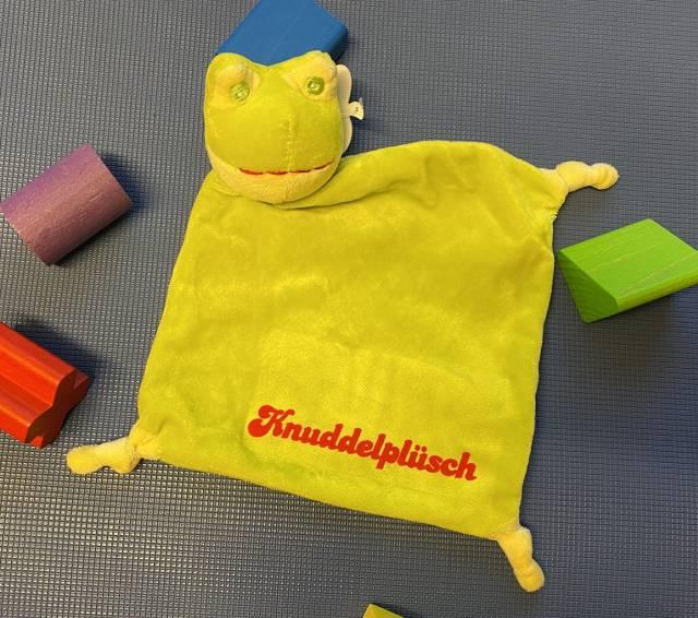 Danker-Druck Plüsch-Schnuffeltuch Relax, inkl. Aufdruck (Transfer-Flock)
