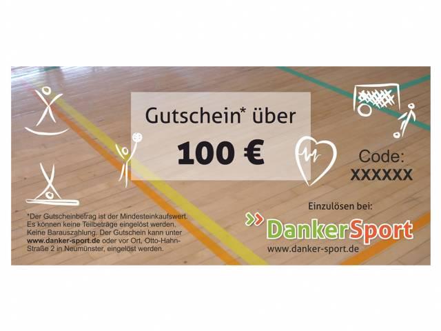 Danker Sport Gutschein 100 Euro