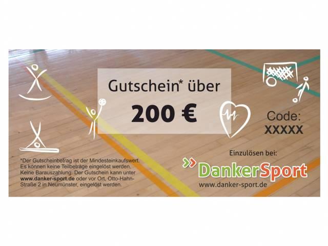 Danker Sport Gutschein 200 Euro