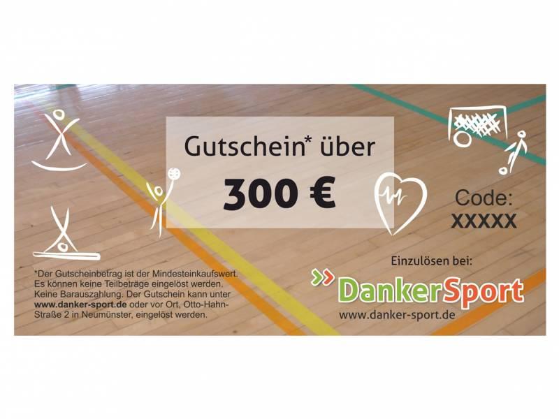 Danker Sport Gutschein 300 Euro