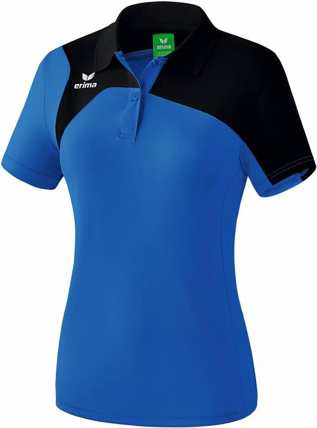 Erima Club 1900 2.0 Damen Polo, new royal/schwarz