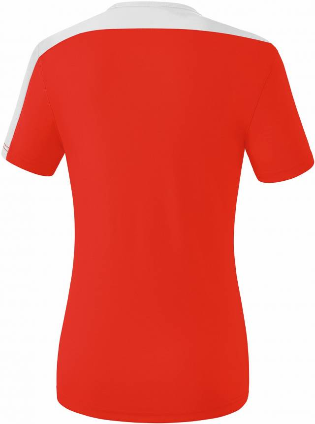 Erima Club 1900 2.0 Damen T-Shirt, rot/weiß