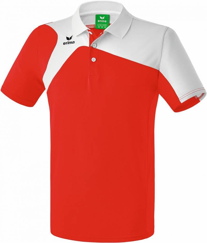Erima Club 1900 2.0 Polo, rot/weiß