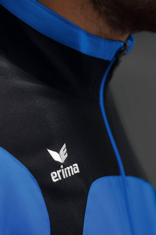 Erima Club 1900 2.0 Präsentationsjacke, new royal/schwarz