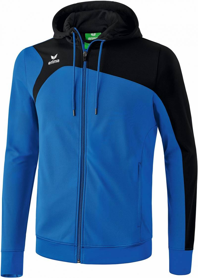 Erima Club 1900 2.0 Trainingsjacke mit Kapuze, new royal/schwarz