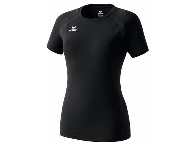 Erima Performance T-Shirt für Damen, schwarz