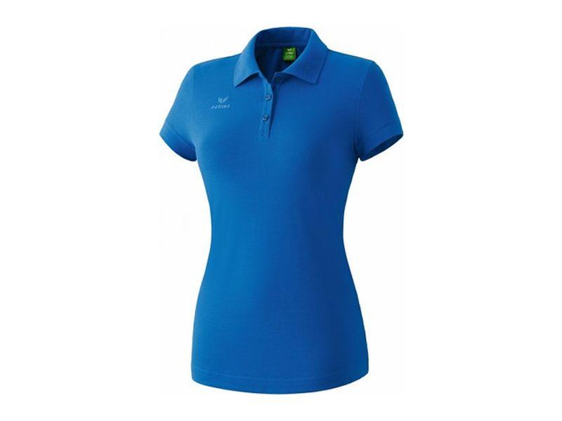 Erima Teamsport Poloshirt für Damen, blau