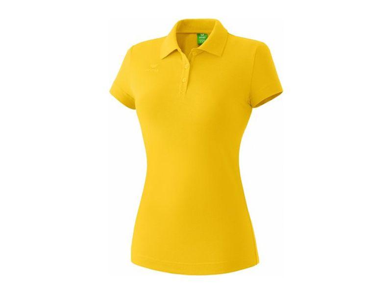 Erima Teamsport Poloshirt für Damen, gelb