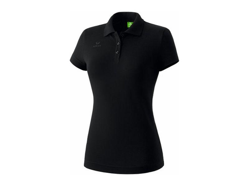 Erima Teamsport Poloshirt für Damen, schwarz