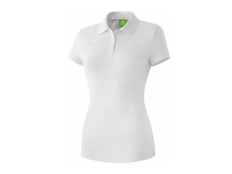 Erima Teamsport Poloshirt für Damen, weiß