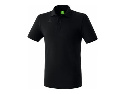Erima Teamsport Poloshirt, schwarz