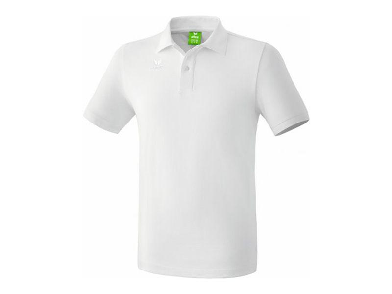 Erima Teamsport Poloshirt, weiß