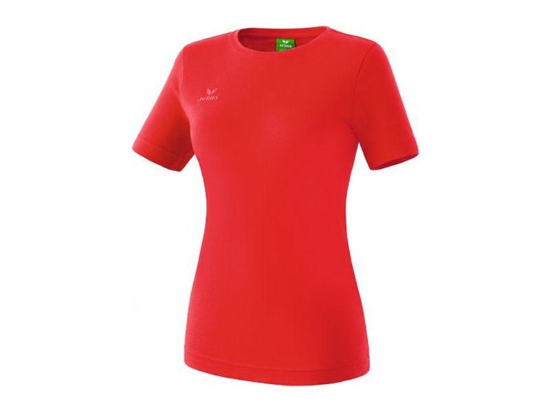 Erima Teamsport T-Shirt für Damen, rot