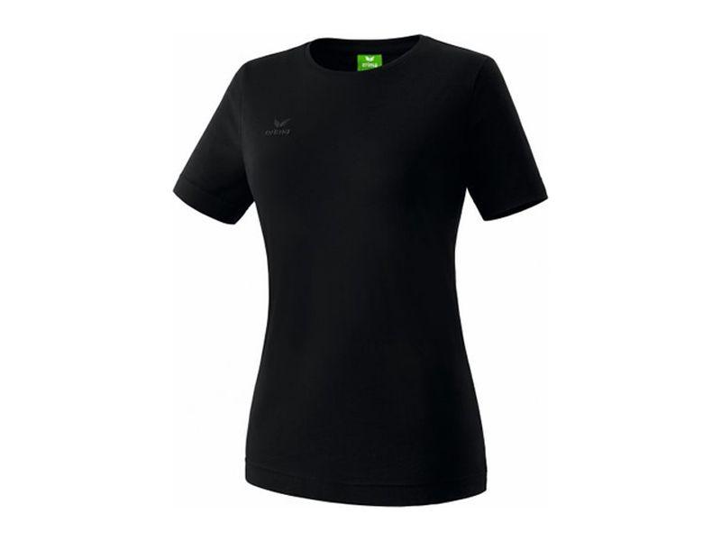 Erima Teamsport T-Shirt für Damen, schwarz