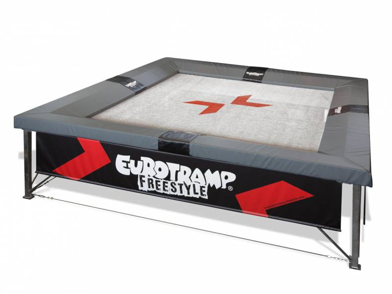 Eurotramp Freestyle 5² Trampolin