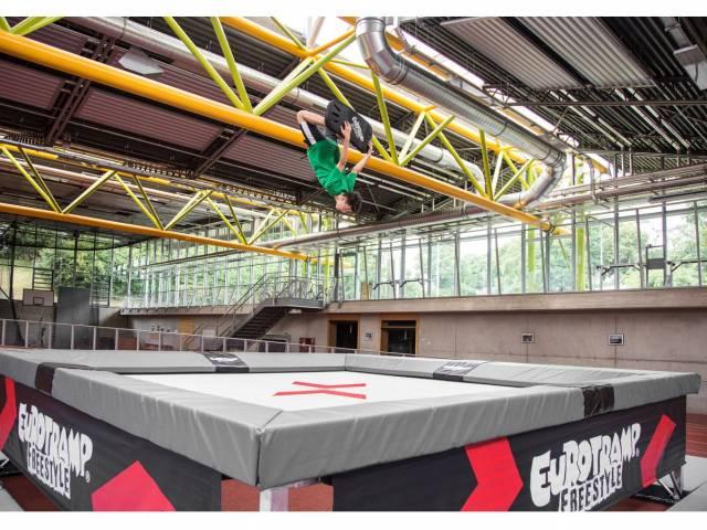 Eurotramp Freestyle 5² Trampolin