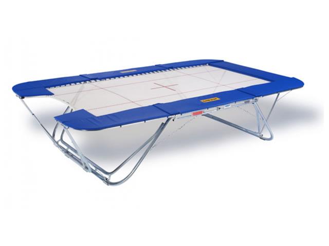 eurotramp trampolin grand master exclusiv open end 6 x 6 mm sprungtuch danker sport. Black Bedroom Furniture Sets. Home Design Ideas