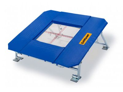 Eurotramp Trampolin Teamgym, 60 x 60 cm