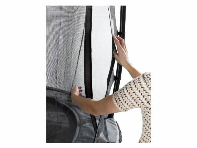 EXIT Gartentrampolin Elegant Premium 427 cm + Sicherheitsnetz Deluxe