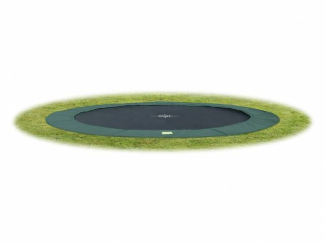 EXIT Gartentrampolin InTerra Ground Level 427 cm