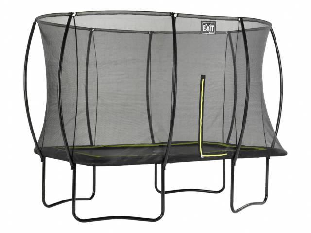 EXIT Gartentrampolin Silhouette 214x305 cm + Sicherheitsnetz