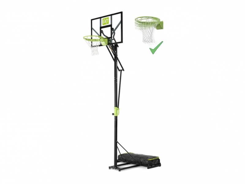 EXIT Polestar Portable Basketballanlage mit Dunkring