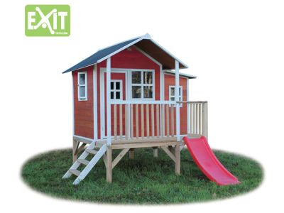EXIT Spielhaus Loft 350 Rot