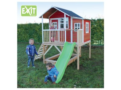 EXIT Spielhaus Loft 550 Rot
