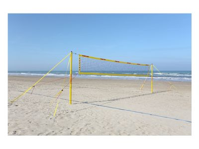 Funtec Beach Champ Set inkl. Spielfeldmarkierung + Netzantennen