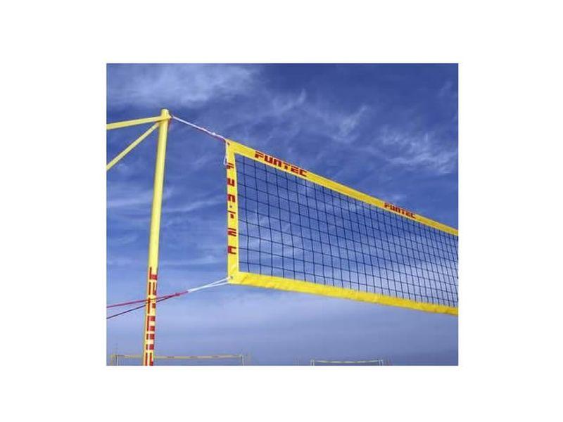 Funtec Pro Beachvolleyballnetz (für mobile Beachvolleyball-SETS)