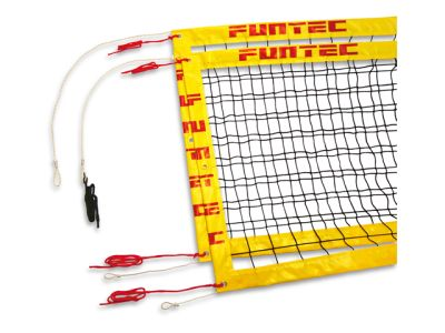 Funtec Pro Beachvolleyballnetz (für stationäre Beachvolleyball-SPIELPFOSTEN)