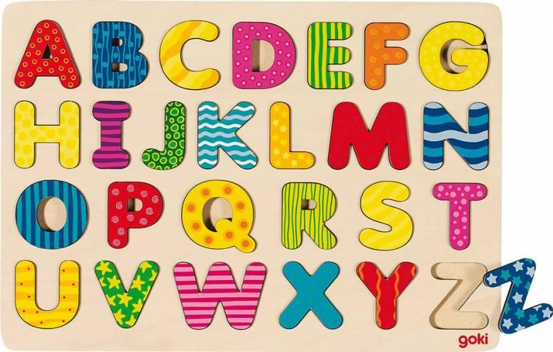 goki Alphabetpuzzle