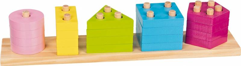 goki Farben- und Formen- Sortierspiel