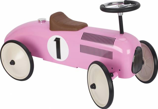 goki Rutscherfahrzeug, rosa