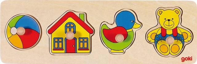 goki Steckpuzzle Spielzeug