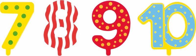 goki Zusätzliche Zahlen 7, 8, 9, 10