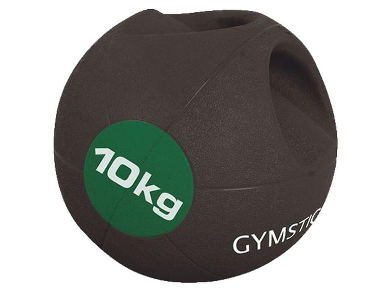 Gymstick Medizinball mit Griffen 10 kg