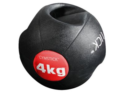 Gymstick Medizinball mit Griffen 4 kg