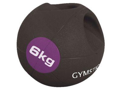 Gymstick Medizinball mit Griffen 6 kg