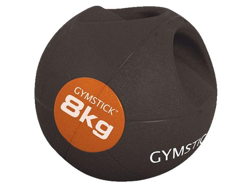 Gymstick Medizinball mit Griffen 8 kg