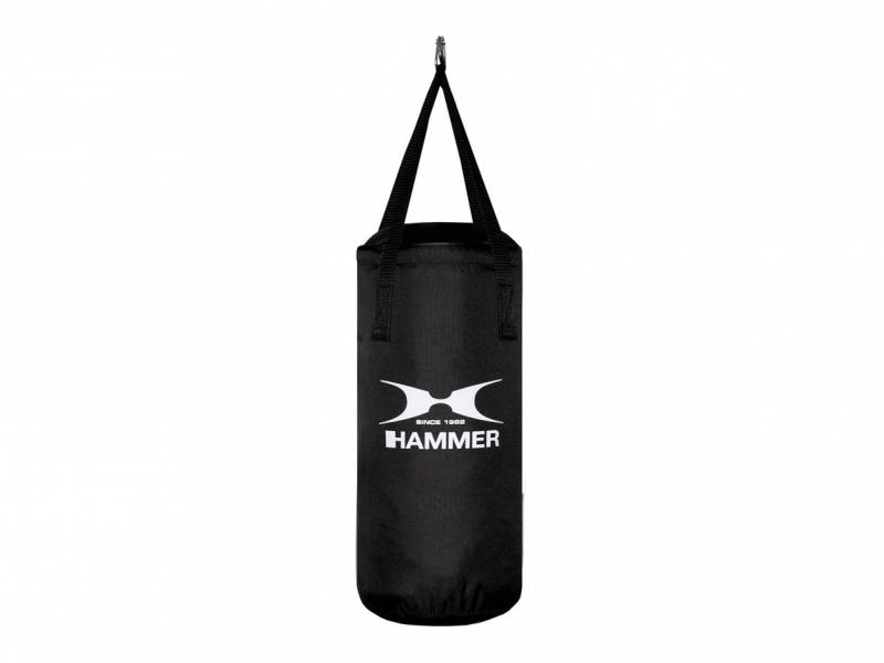 Hammer Boxsack Fit Junior, schwarz 50 cm (gefüllt)
