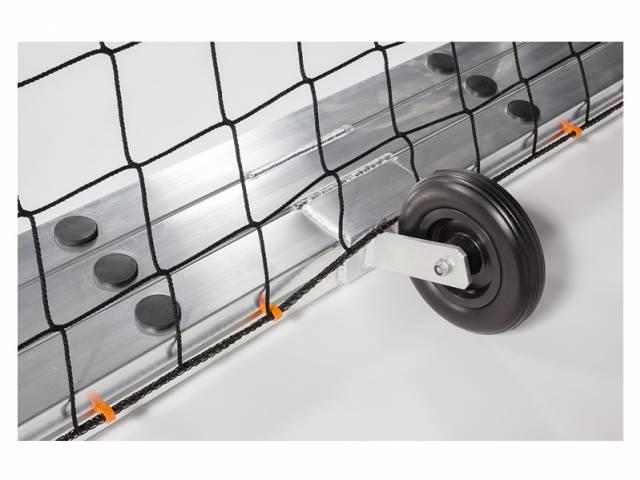 Haspo Jugendtor - 5 x 2 m, transportabel & selbstsichernd, vollverschweißt PLUS, TÜV geprüft