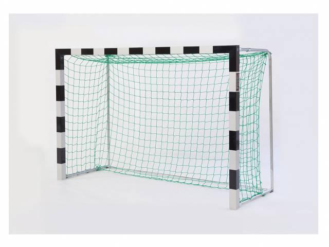Haspo Mini-Handballtor Transportabel, 2,40 x 1,60 m, mit anklappbaren Netzbügeln, TÜV geprüft