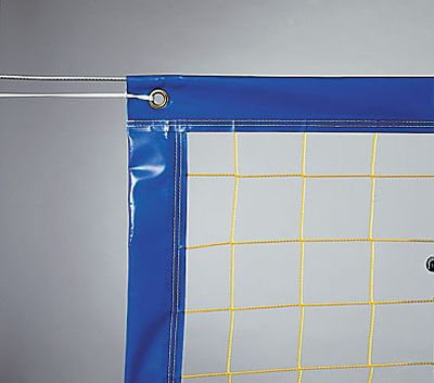 Huck Beach-Volleyball-Trainingsnetz Polypropylen 2,3mm - 9 x 18 m - Einfaßband ringsum
