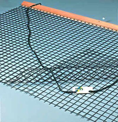 Huck Tennis-Schleppnetz mit doppelter Netzlage und 4cm-Maschen